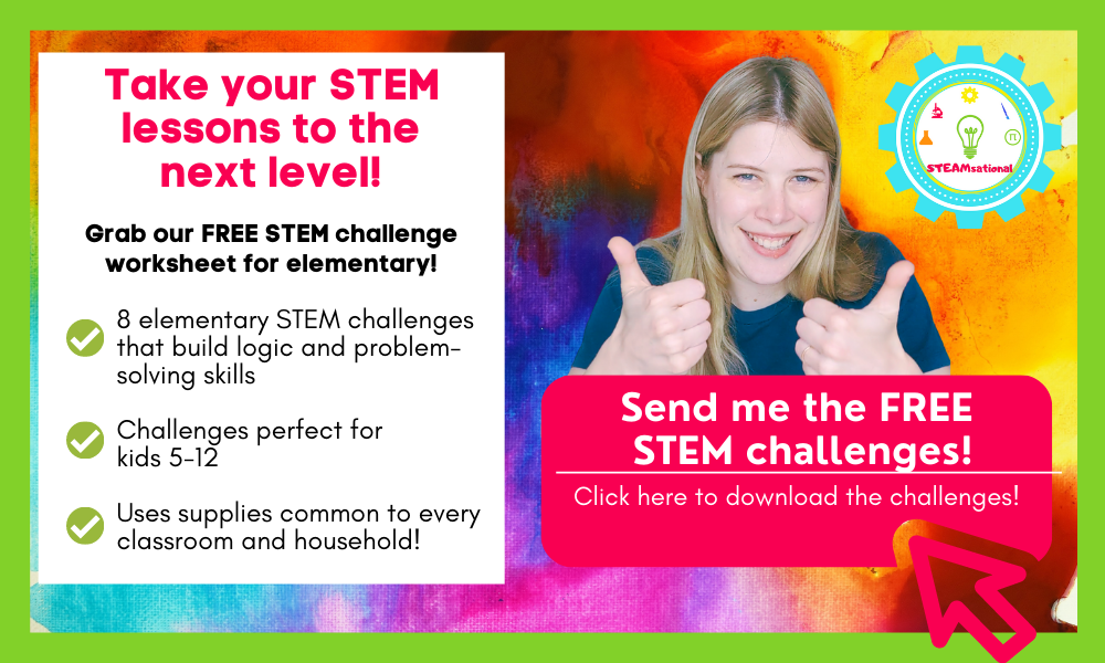 elementary stem challenge cards