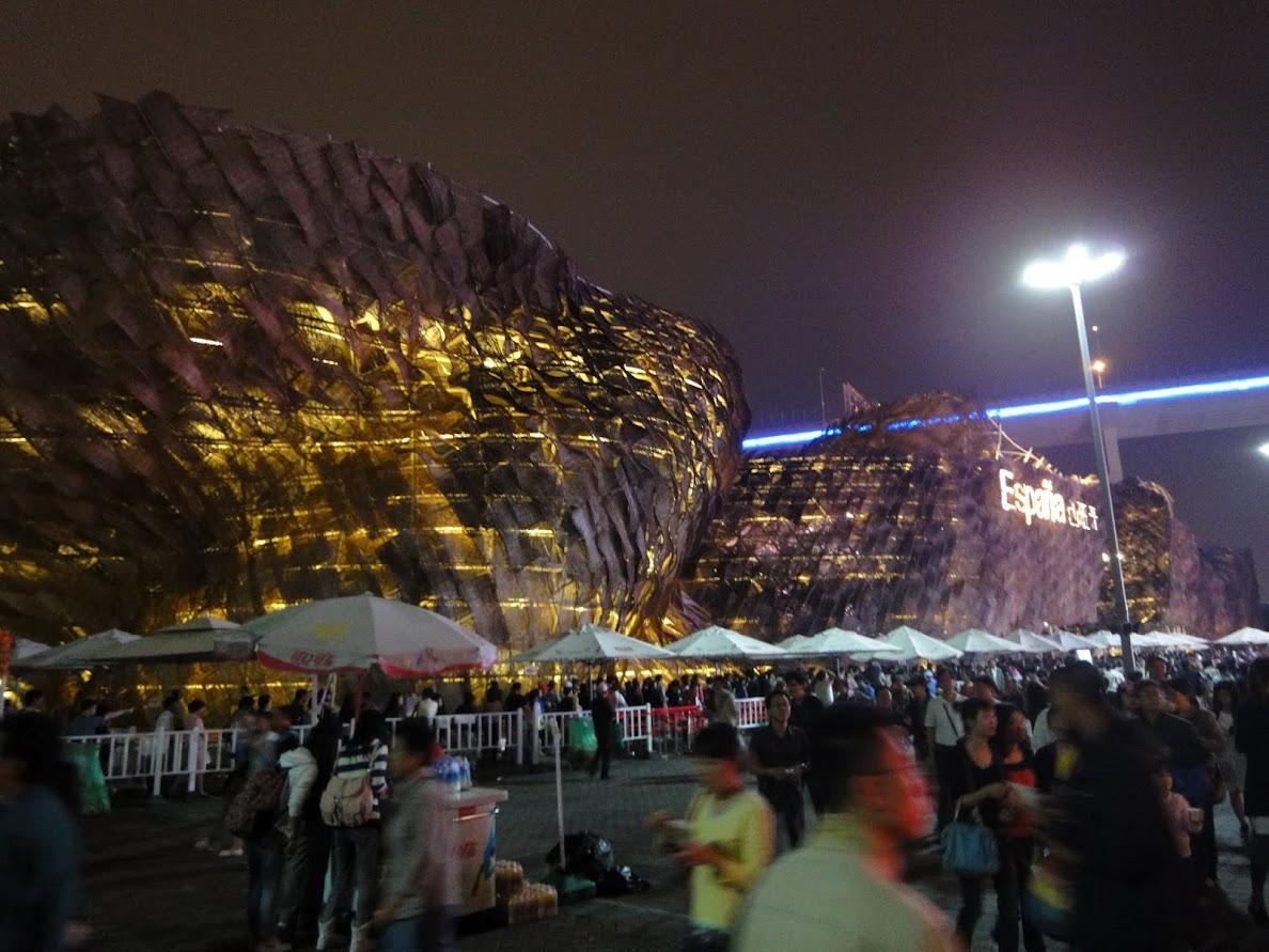 Pavillon Espagne à l'Exposition universelle Shanghai 2010