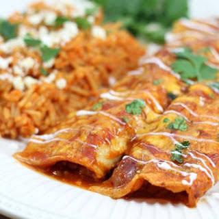 Chili Cheese Enchiladas.