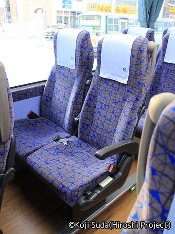 弘南バス「スカイ号」 ・992 シート