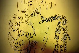 Photo: メスライオンも描けます