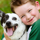 Boy With Dog Wallpapers Theme
