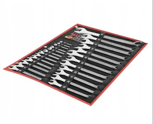 Trusa ONEX - Set 25 chei fixe 6-36 mm