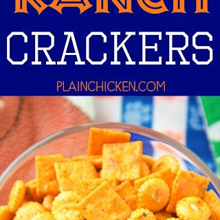 Buffalo Ranch Crackers