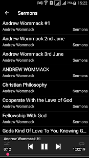 Andrew Wommack's Sermons - náhled