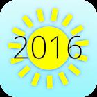 Summer 2016 Countdown icon