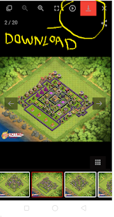 App layout for clash of clans APK for Windows Phone