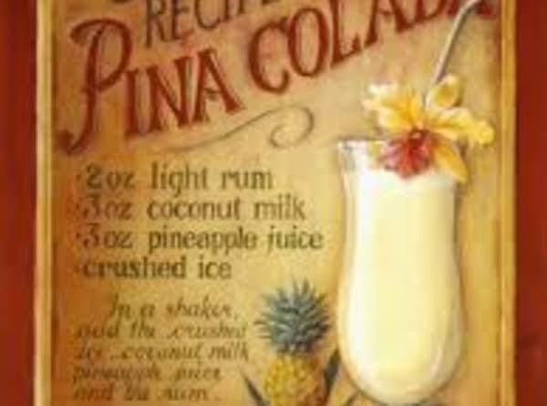 Pina Colada Slush