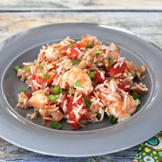 Rice Pilaf with Shrimp and Chicken
