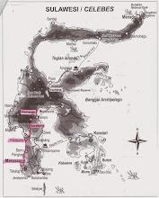 Photo: Mapa de Sulawesi