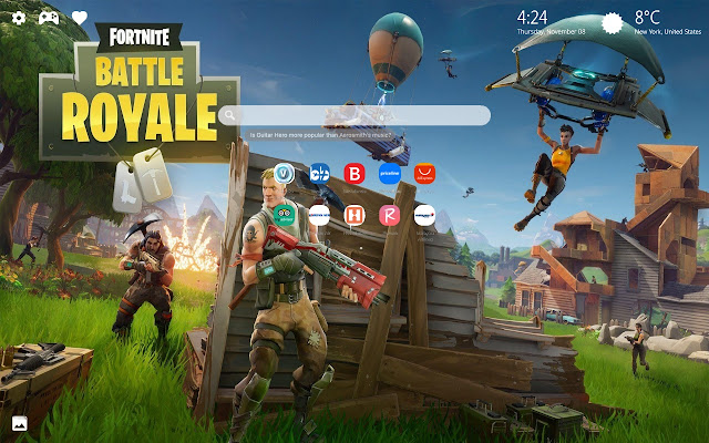 Fortnite Season 5 New Tab Wallpaper HD