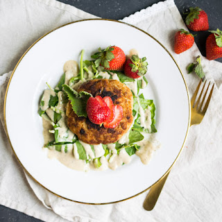Strawberry Oregano Turkey Burgers (Whole30, Paleo, Keto, Nut Free) Recipe