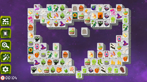 Mahjong Spooky - Monster & Halloween Tilesud83dudc7bud83dudc80ud83dude08 modavailable screenshots 3