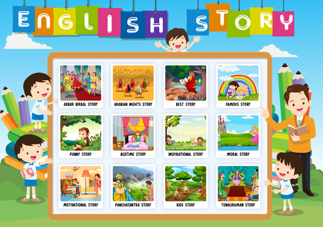 English Stories: Learn Tales and Short Stories – (Android