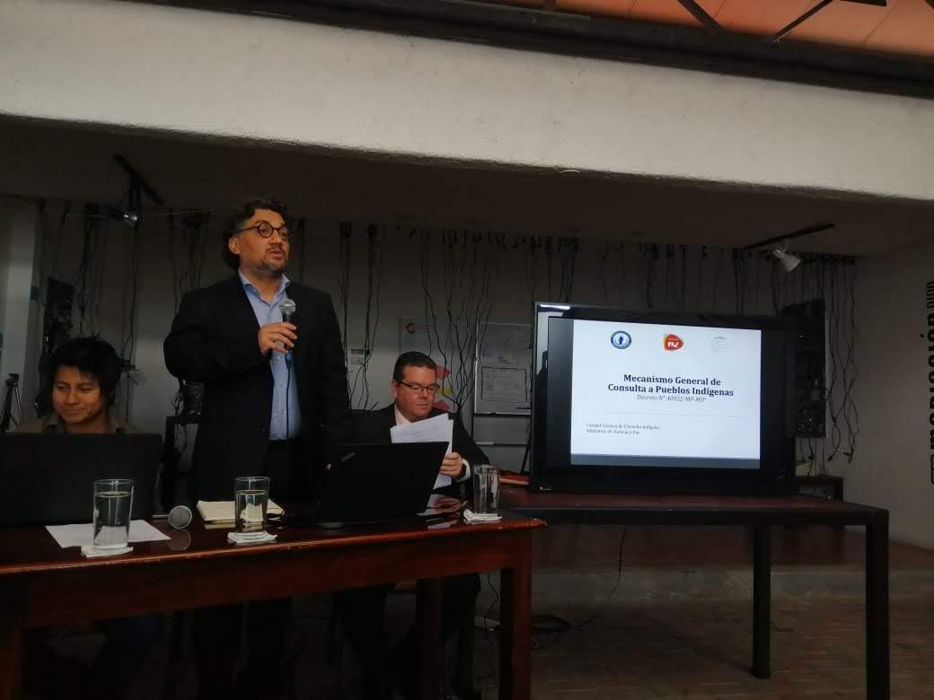 UNIDAD TÉCNICA DE CONSULTA INDÍGENA PRESENTA AVANCES EN LA IMPLEMENTACIÓN DEL MECANISMO DE CONSULTA