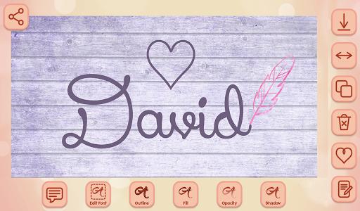 Name Art on Photo Love Calligraphy 1.5 screenshots 7