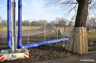 Photo: Entwittmete FFH Rosensteinparkfläche für ein S21-Kreuzungsbauwerk