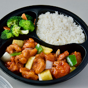 Sweet & Sour Chicken with White Rice Combo