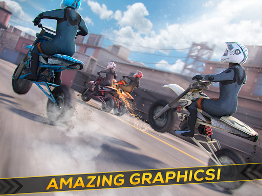 Real Motor Bike Racing - Highway Motorcycle Rider  screenshots 5