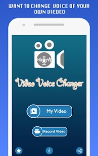 Video Voice Changer + Video Editor - náhled