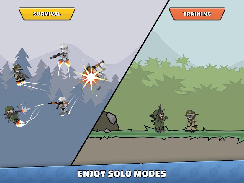 Screenshot - Mini Militia – Doodle Army 2