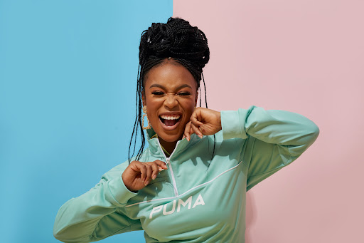Nomzamo Mbatha dishes on her 'empowered and sexy' Puma collection
