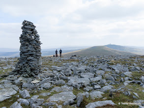 Photo: View from Cross Fell to Great Dun Fell