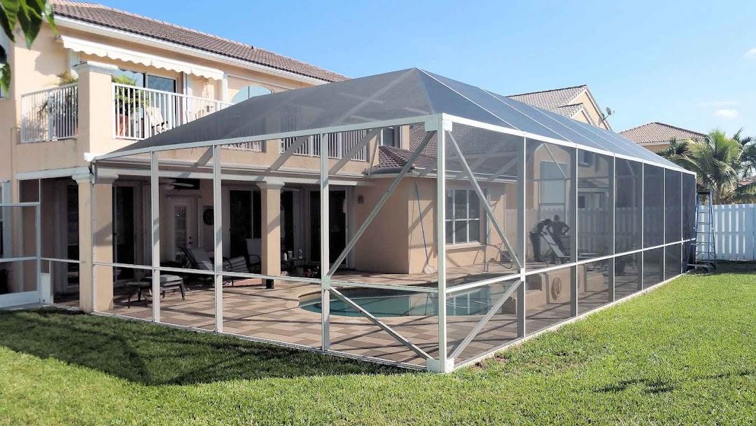 pool patio and porch screen repair