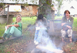 Photo: Vakaro dūmai. Fizrukė, Melisa ir Radasta