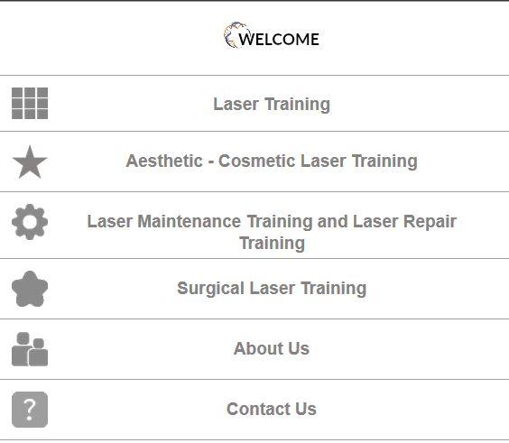 Laser Training- screenshot