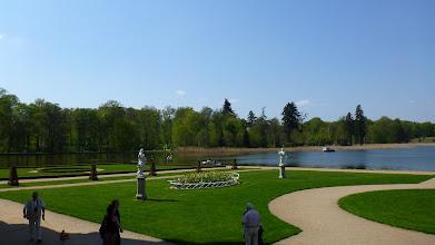 Photo: Blick vom Schloss in Richtung Park