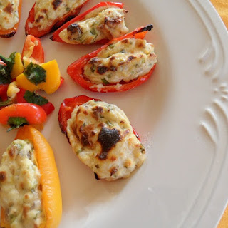 Cream Cheese Stuffed Baby Bell Peppers