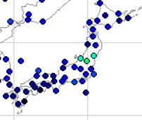 2018年7月日本の降水量