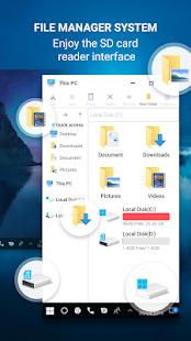 App Computer launcher for win 10 desktop launcher 2019 APK for Windows Phone
