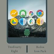 لالروبوت Redox - Icon Pack تطبيقات screenshot