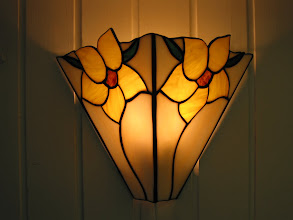 Photo: wandlamp - door Agnes Boes