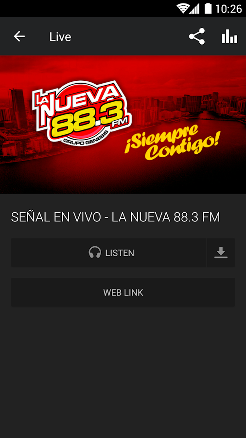 LaNueva883- screenshot