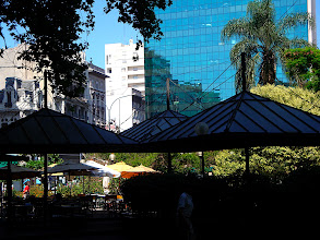 Photo: Montevideo - hangin roof structure