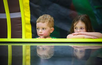 Photo: One Intense Game of Air Hockey #familytime  #kidsbirthdayparties :)