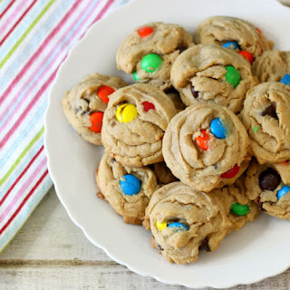 Peanut Butter M&M's Cookies