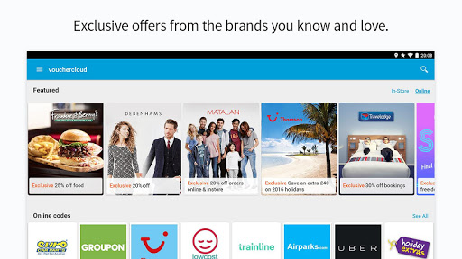 vouchercloud: deals & offers screenshot 9