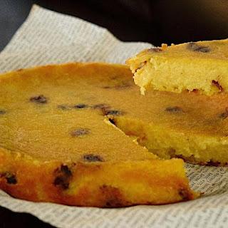 Arepa Dominicana (Dominican Cornmeal Cake).