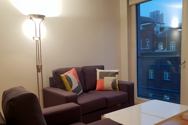 living space at Clerkenwell Executive