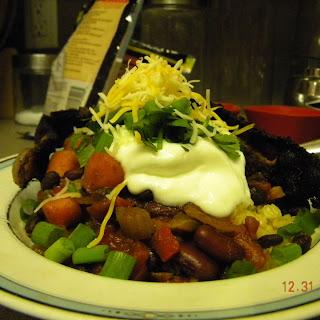 Slightly Vegetarian Chili