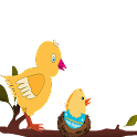 The Running Egg Chick icon