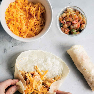 Bacon Egg Potato Breakfast Burrito Recipes