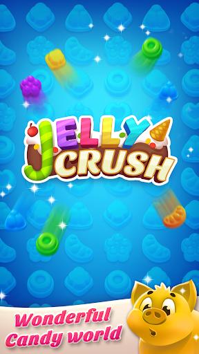 Télécharger Gratuit Jelly Crush - Match 3 Games & Free Puzzle 2019  APK MOD (Astuce) screenshots 3