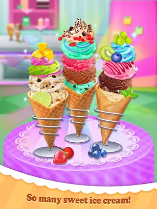 Summer Frozen Ice Cream Maker- screenshot thumbnail