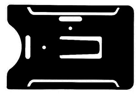 Korthållare CK Multi för 1-5 kort