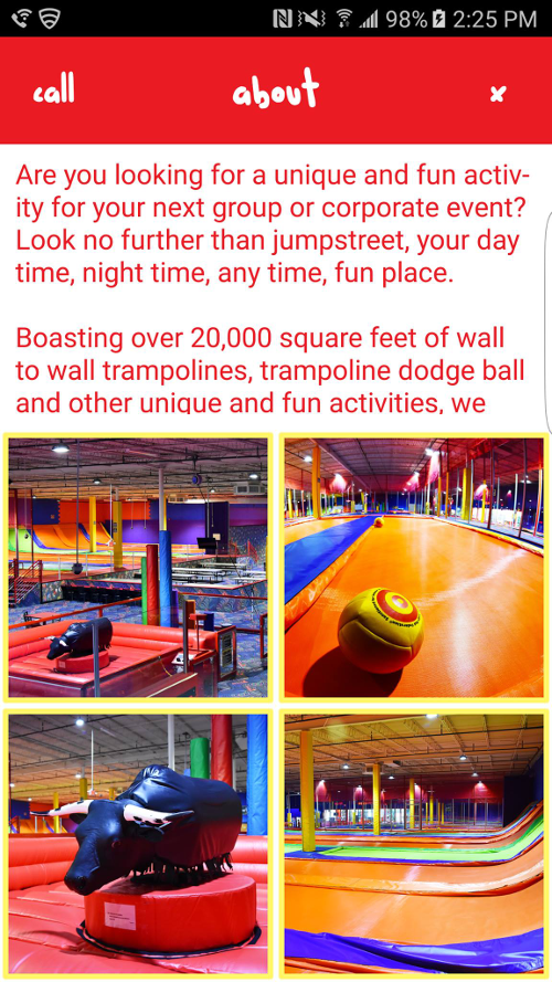 Jumpstreet Indoor Trampoline- screenshot